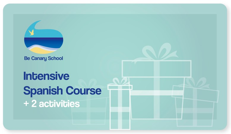 Gift Card of Spanish Course which can be bought using PayPal