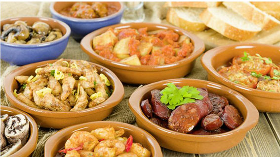 Tapas - another tipical Spanish food