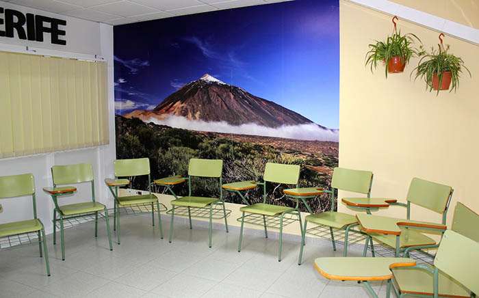 Classroom rental in Be Canary School in Gran Canaria