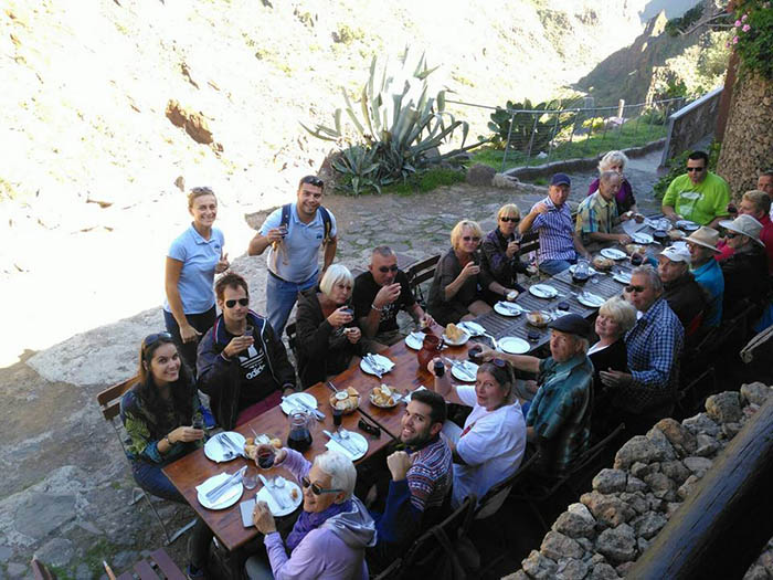 You will not only learn Spanish in the class but also during excursions to the heart of Gran Canaria.